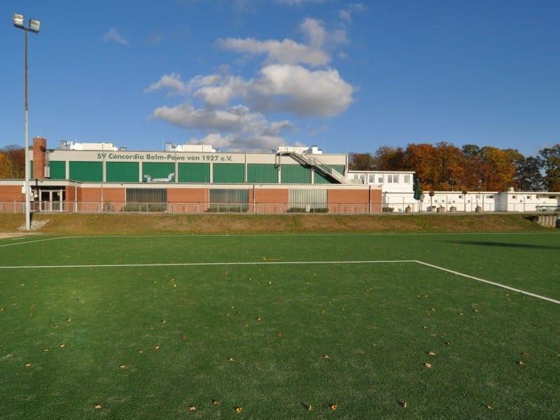 Außenansicht | Sanierung der Dreifachsporthalle Belm | PLAN.CONCEPT