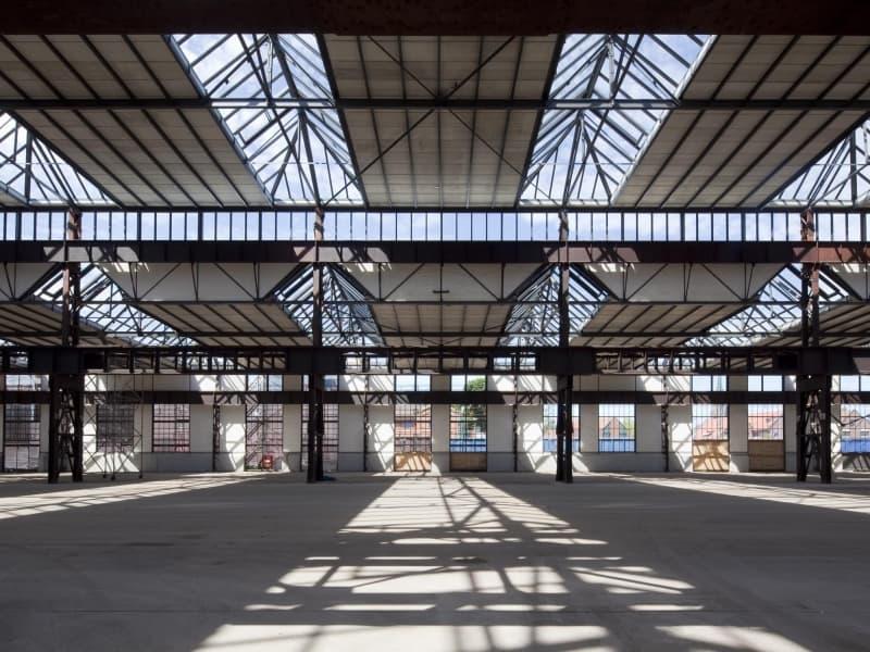 Sanierung denkmalgeschützte Hallen Eisenbahnausbesserungswerk Hochschule Osnabrück Standort Lingen | PLAN.CONCEPT