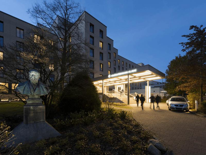 Modernisierung der Schüchtermann-Klinik, Bad Rothenfelde