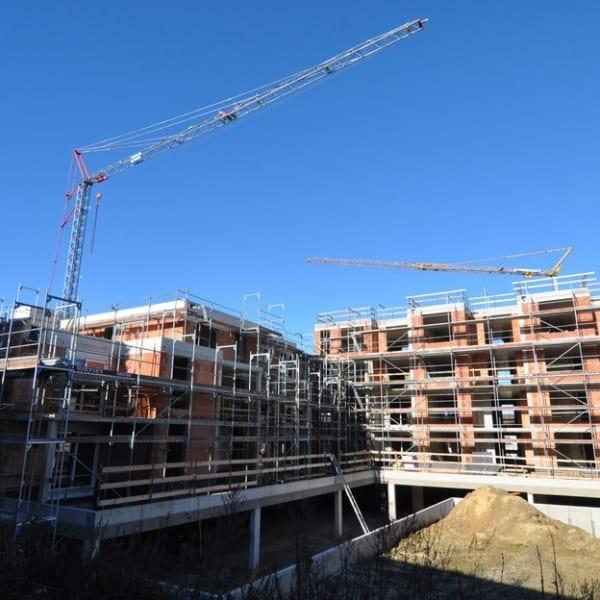 Neubau Mehrfamilienhaus in Georgsmarienhuette ist richtfertig