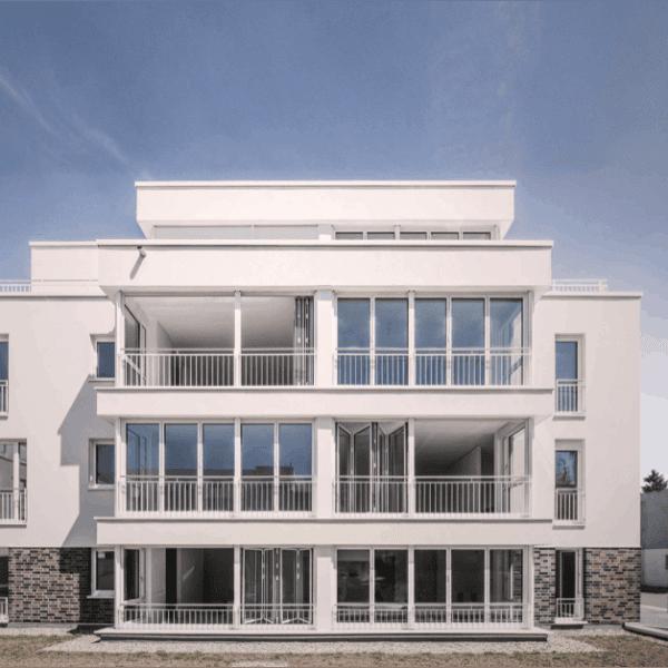 Solarlux-Glas-Faltwände | Neubau Eigentumswohnungen und Apartments Neustadt Carré Osnabrück | PLAN.CONCEPT