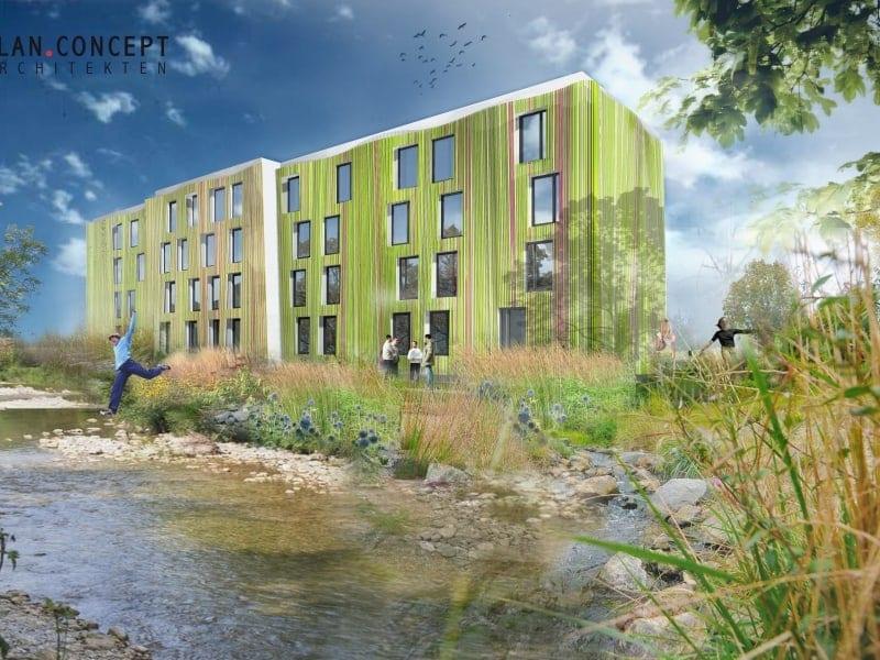 Studentenwohnanlage Wissenschaftspark Osnabrück | PLAN.CONCEPT Architekten GmbH