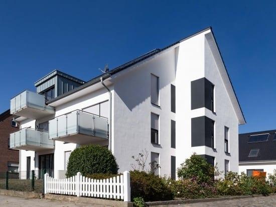 Projekt Ungleiches Duo Mehrfamilien- und Zweifamilienhaus auf einem Grundstück PLAN.CONCEPT Architekten GmbH