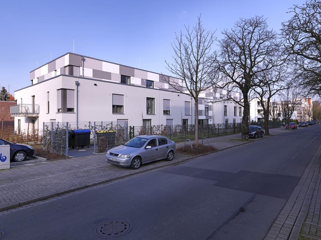 WirQuartier: Wohnanlage (Passivhausstandard) für Menschen mit unterschiedlichen Behinderungen und Studierende in Osnabrück